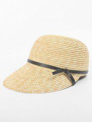 Bowknot Straw Beach Holiday Hat -