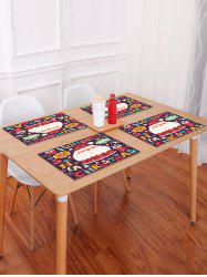 1PC Father Christmas Design Placemat -