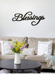 Blessings Wooden Letters Sign -