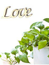 Love Wooden Letters Sign -