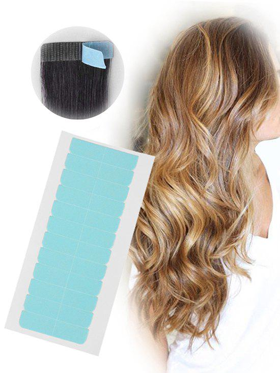 Cheap 12Pcs Double Sides Hair Extensions Adhesive Hair Tapes