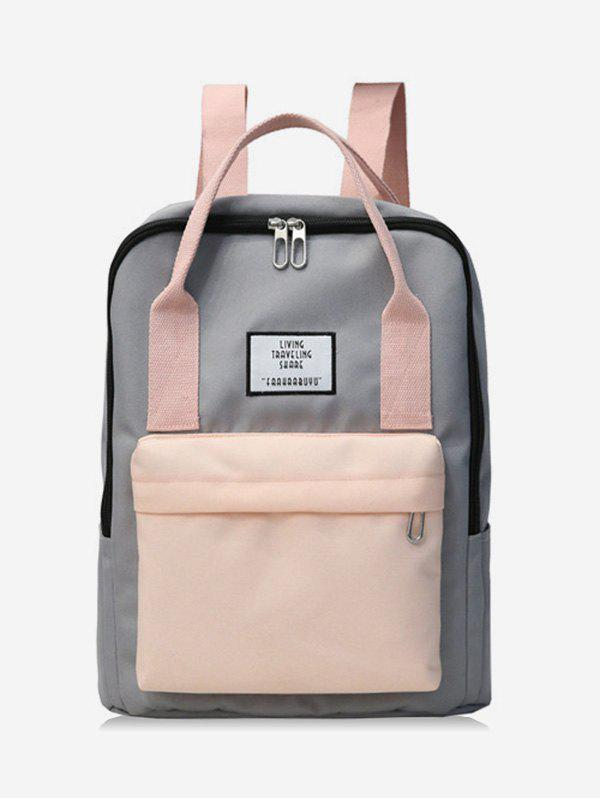 Sale Waterproof Contract Color Backpack