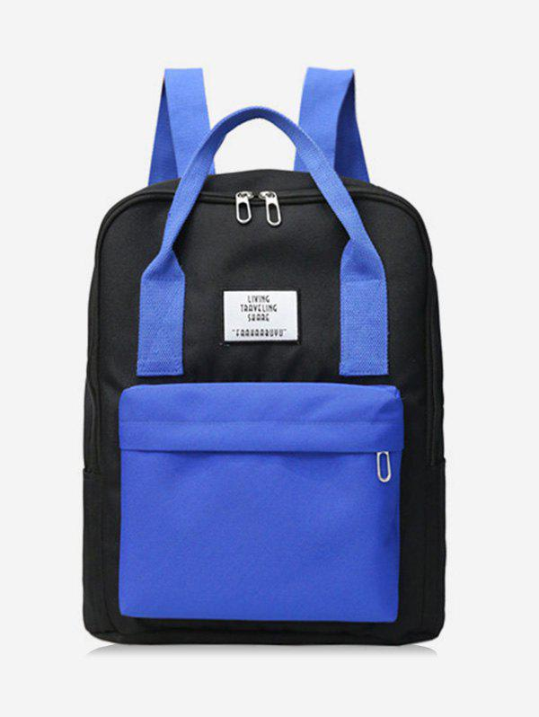 Latest Waterproof Contract Color Backpack