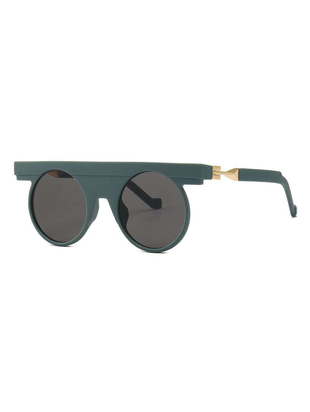 Affordable Round Design Simple Style Sunglasses