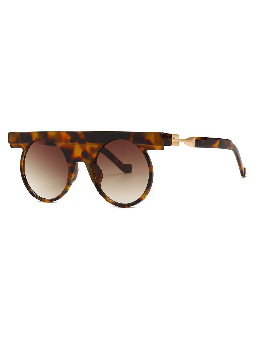 Outfit Round Design Simple Style Sunglasses