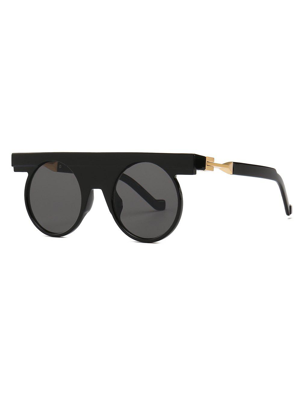 Online Round Design Simple Style Sunglasses