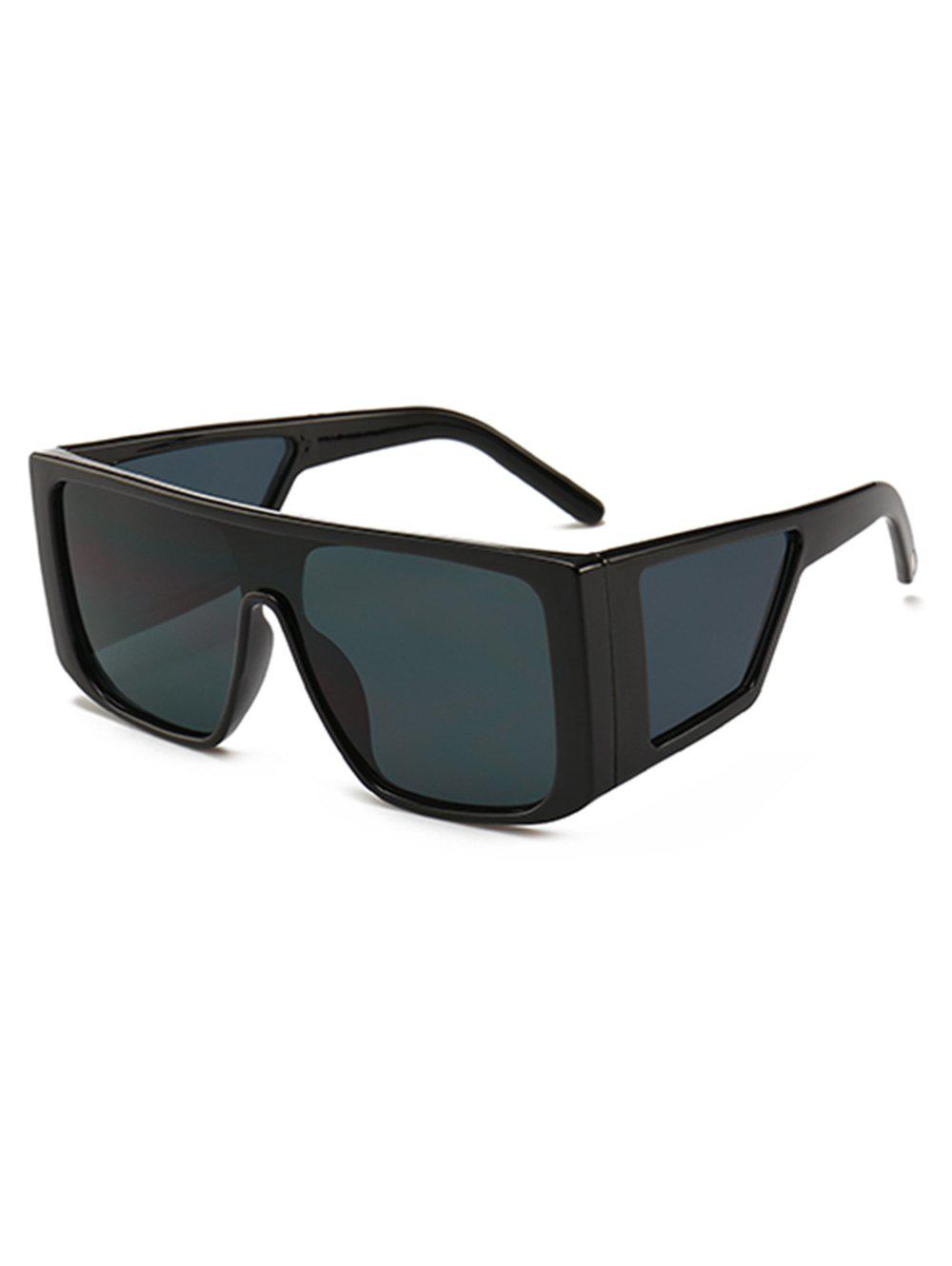 Hot Integrated Lens Square Frame PC Sunglasses