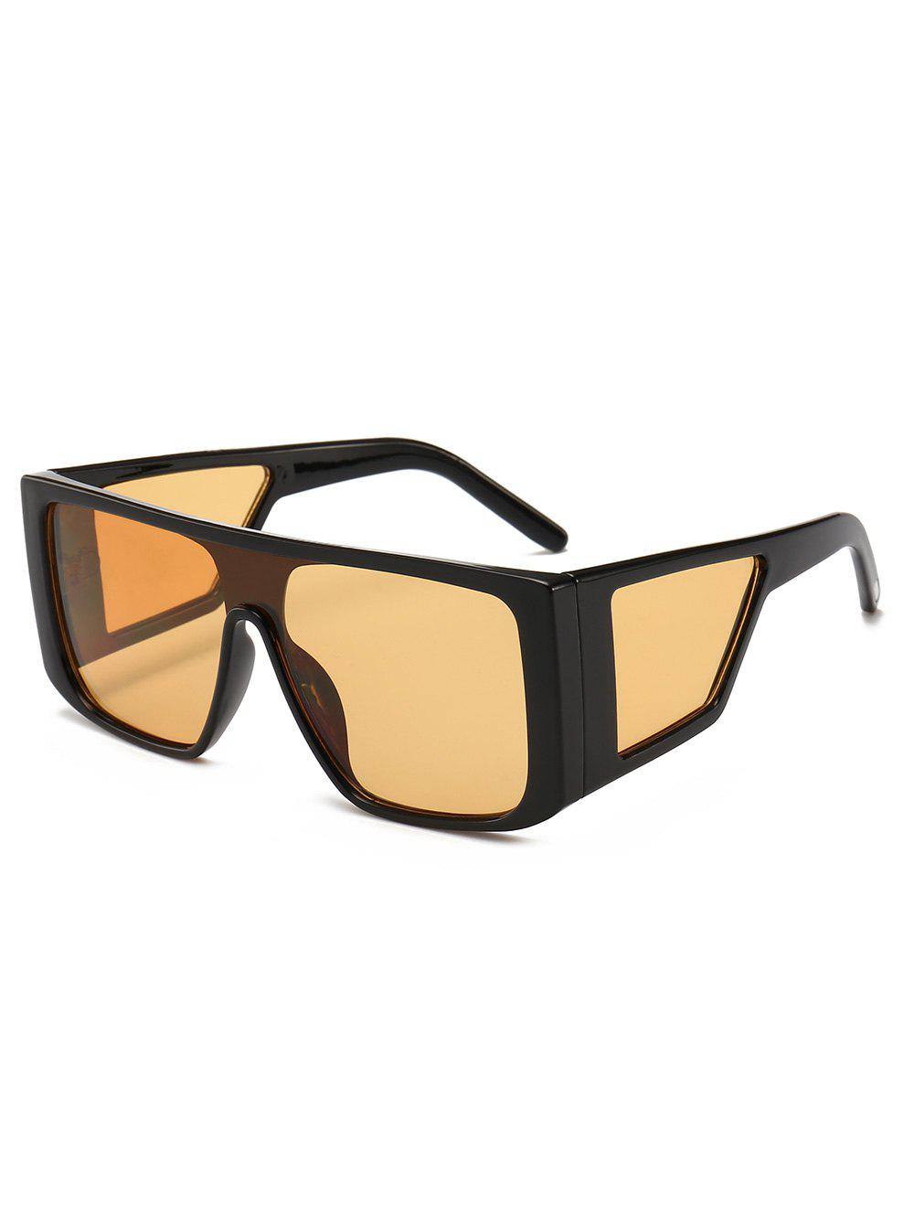 Sale Integrated Lens Square Frame PC Sunglasses