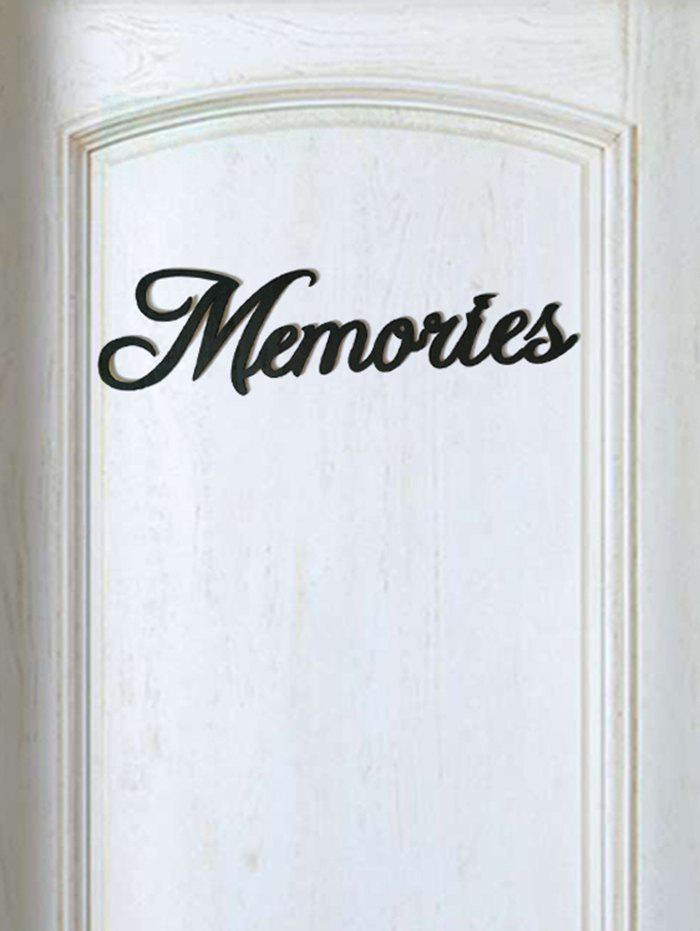 Outfit Memories Wooden Letters Sign