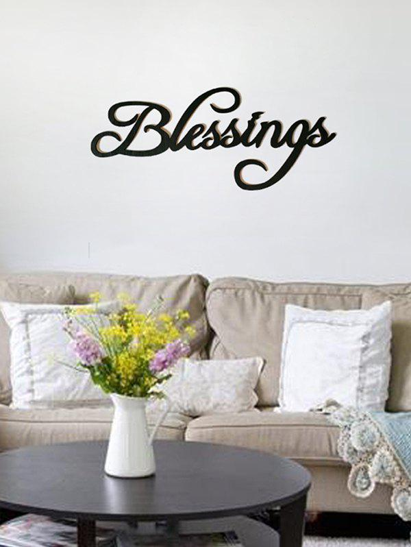 Discount Blessings Wooden Letters Sign