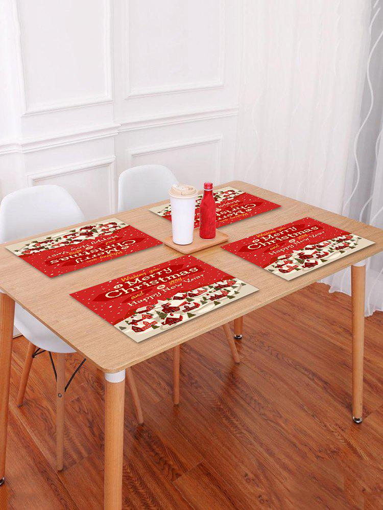 Online 1PC Merry Christmas Printed Placemat