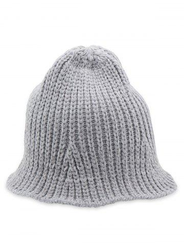 6615d5b6b27 Flanging Knitted Fisherman Hat