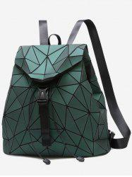 Geometric Pattern Over Lap Backpack -