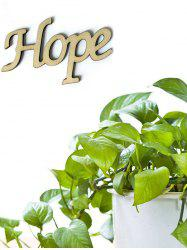 Hope Wooden Letters Sign -