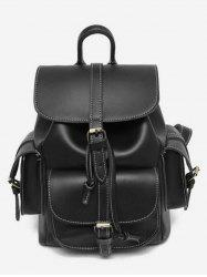 Large Capacity PU Backpack -