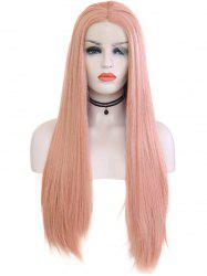 Synthetic Straight Cospaly Lolita Lace Front Wig -