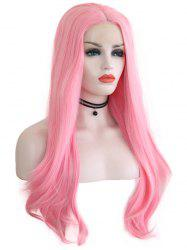 Middle Part Straight Party Lolita Synthetic Lace Front Wig -
