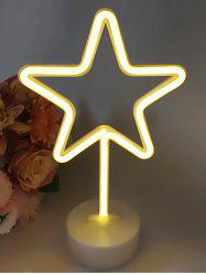 3D Star Shaped LED Lamp -