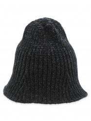 Flanging Knitted Fisherman Hat -