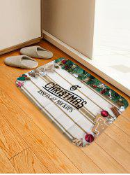 Christmas Theme Print Floor Mat -