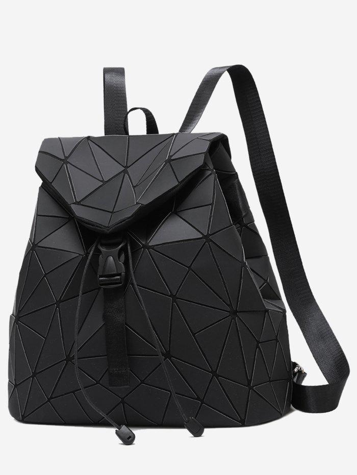 Shop Geometric Pattern Over Lap Backpack