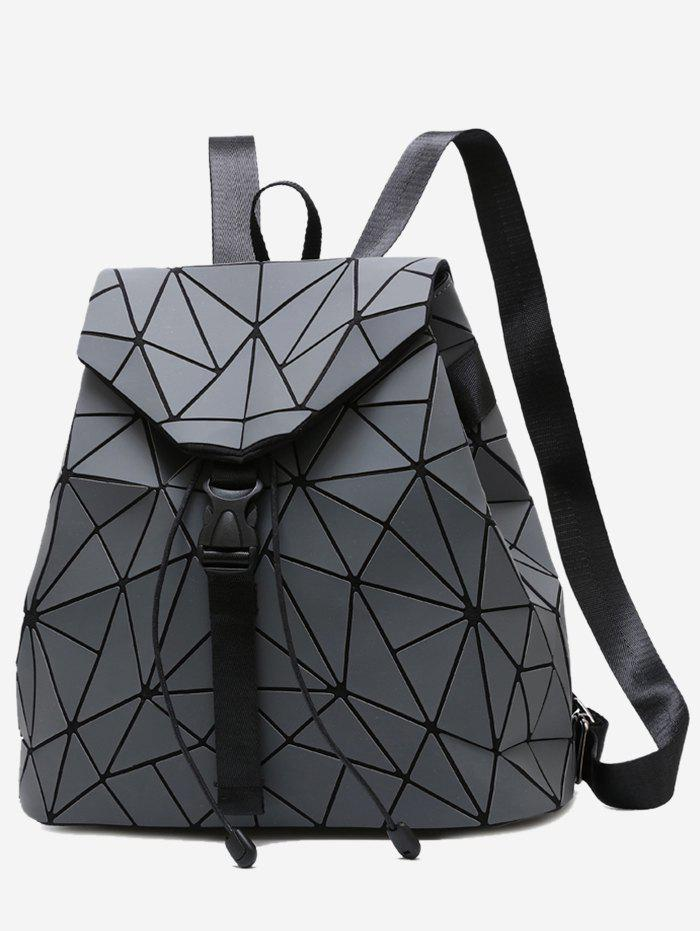 Fancy Geometric Pattern Over Lap Backpack