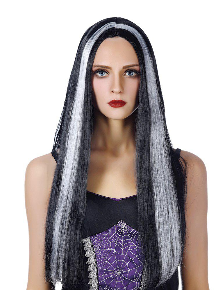 Sale Middle Part Long Capless Straight Synthetic Wig