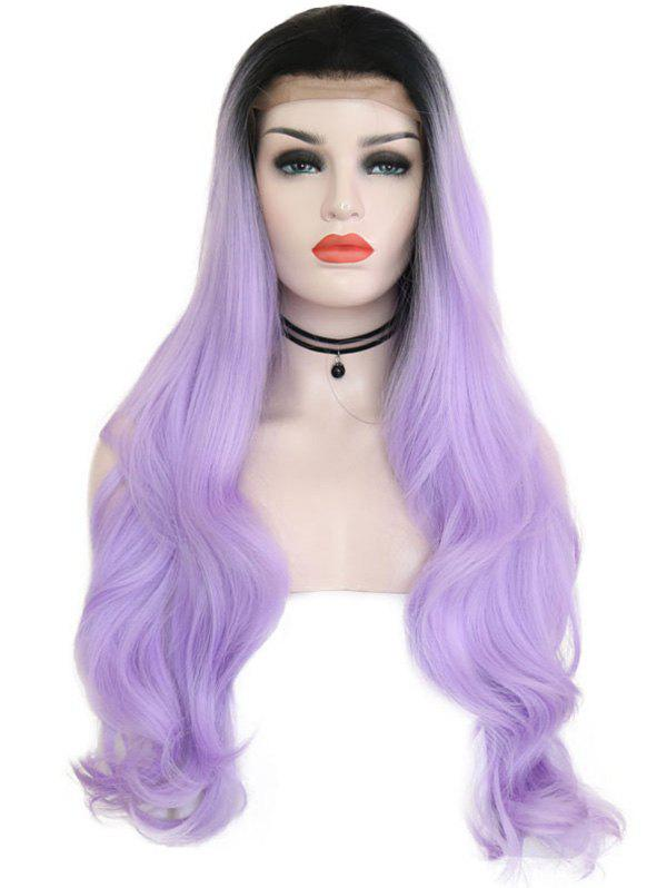 Shops Free Part Colormix Wavy Party Cosplay Lace Front Synthetic Wig