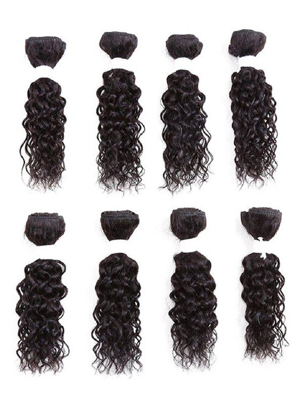 Shop Short Jerry Curly Synthetic Hair Weaves