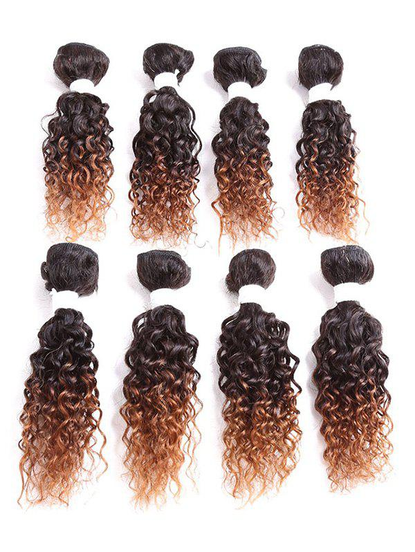 Affordable Short Jerry Curly Synthetic Hair Weaves