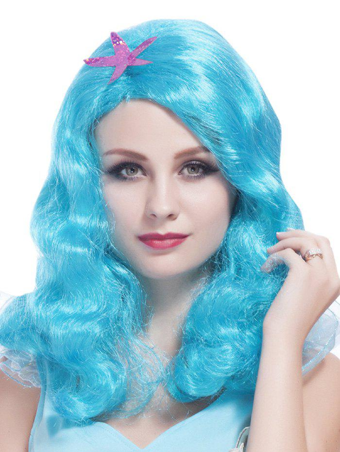 Fancy Medium Side Bang Wavy Party Cosplay Synthetic Wig