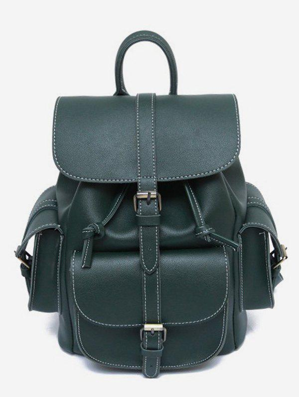 Sale Large Capacity PU Backpack