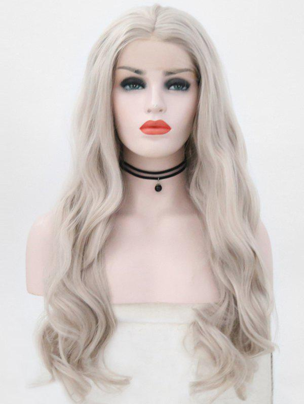 Sale Center Parting Wavy Party Synthetic Lace Front Wig