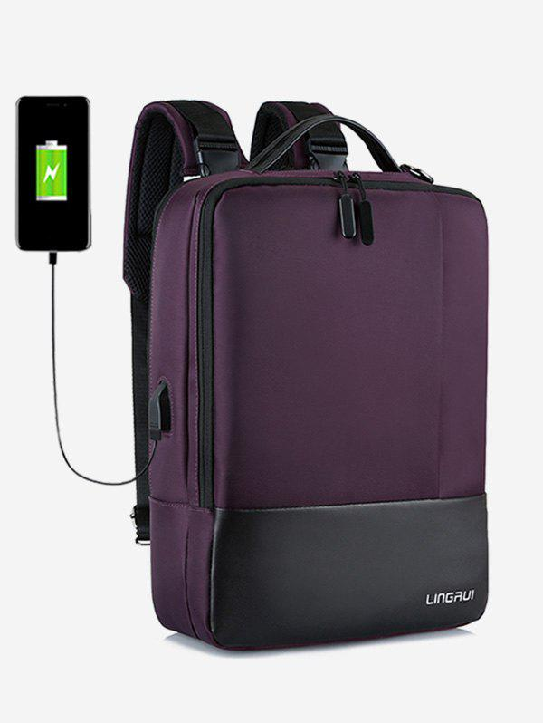 Shops Chargeable Multifunction Contract Color Backpack