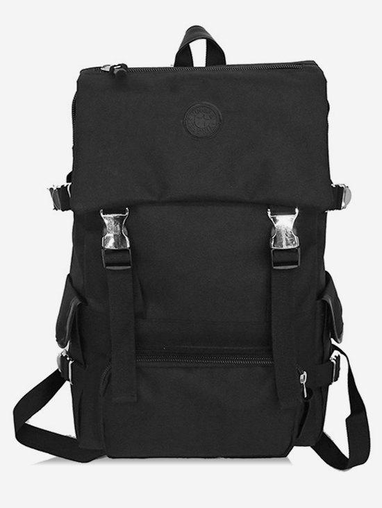 Outfit Canvas Zipper Compartment Backpack