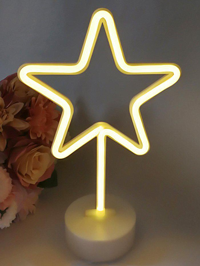 Hot 3D Star Shaped LED Lamp