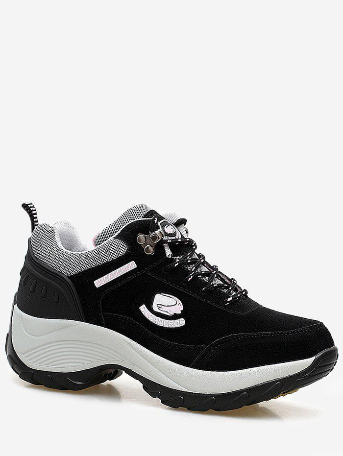 Buy Graphic Suede Platform Running Sneakers