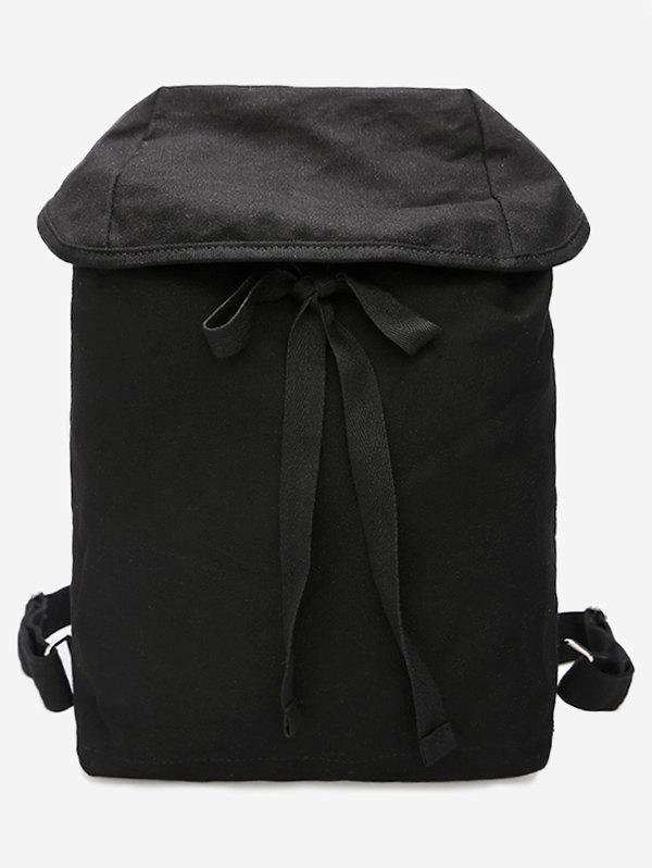 Cheap Simple Style Lace Up Backpack