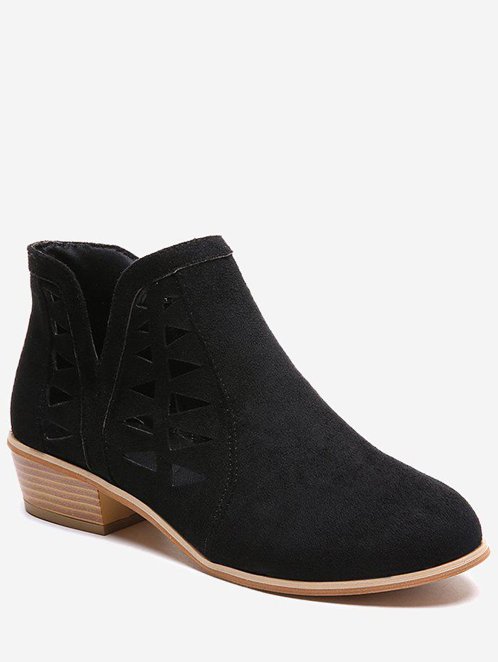 Sale Hollow Out Ankle Boots