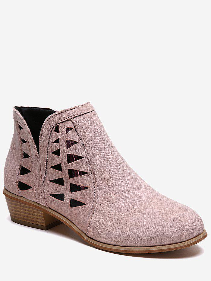 New Hollow Out Ankle Boots
