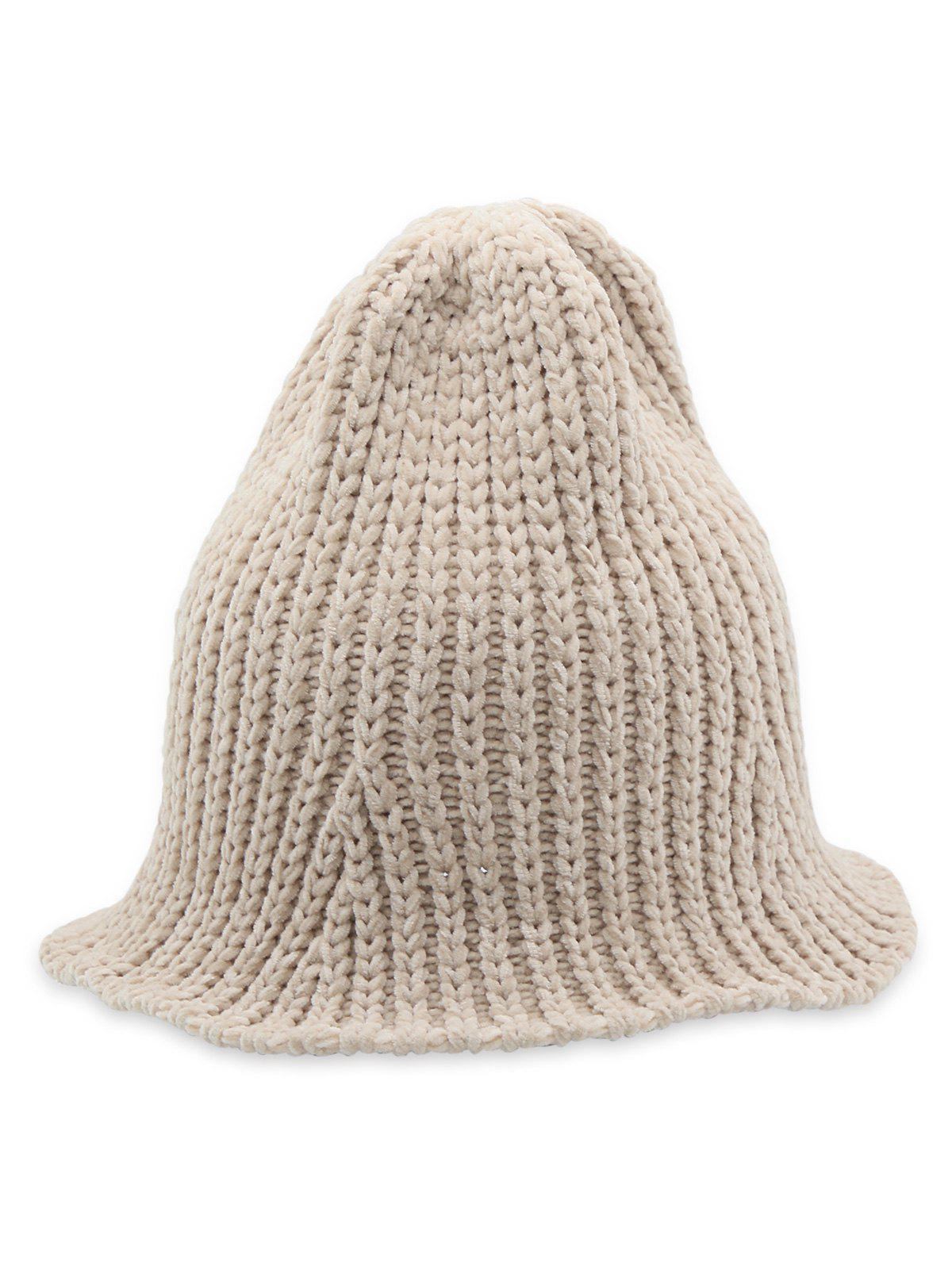 Trendy Flanging Knitted Fisherman Hat