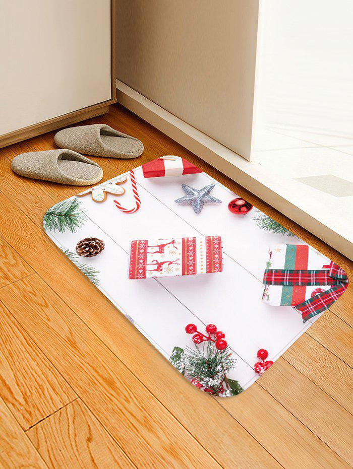 Outfits Christmas Star Gift Printed Floor Mat