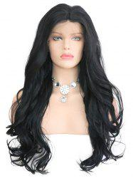 Synthetic Lace Front Middle Part Wavy Wig -