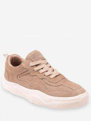 Fur Lined Lacing Casual Sneakers -