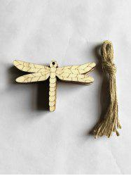 10PCS Easter DIY Dragonfly Hanging Decorations -