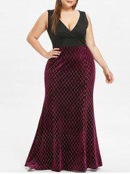 Plus Size Mother of The Maxi Bride Dress -