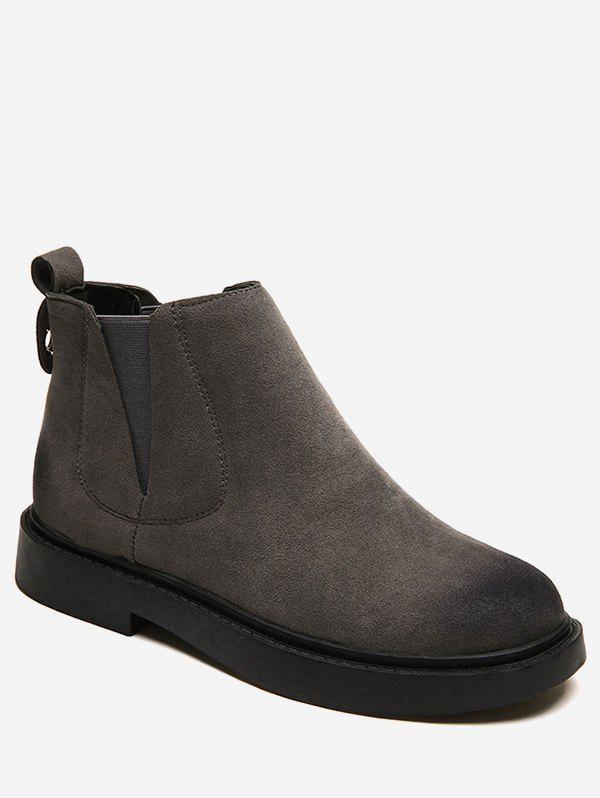 Sale Round Toe Ankle Chelsea Boots