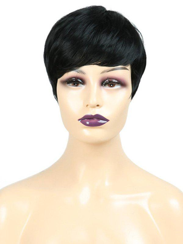 Outfit Inclined Fringe Straight Short Synthetic Wig