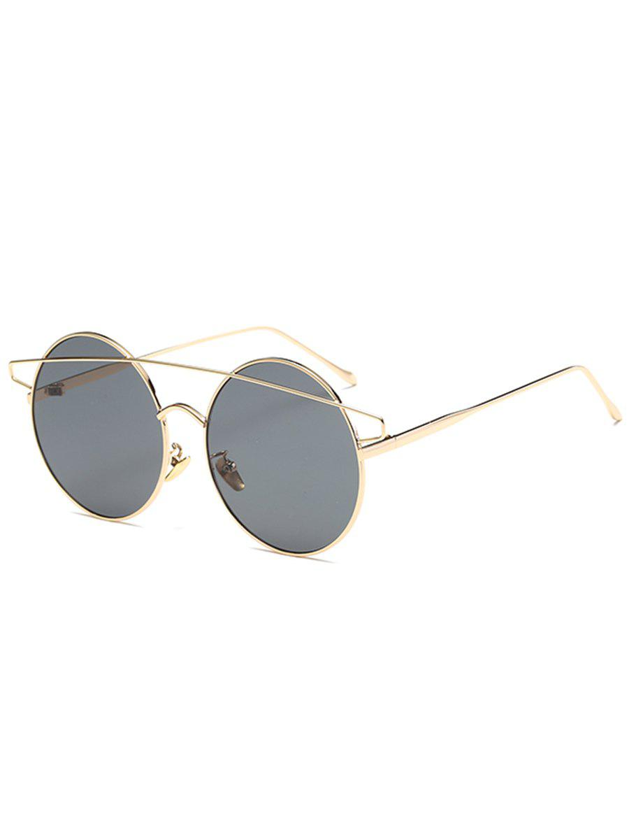 d33e8ea4afb5 28% OFF] Metal Round Frame Stylish Sunglasses | Rosegal