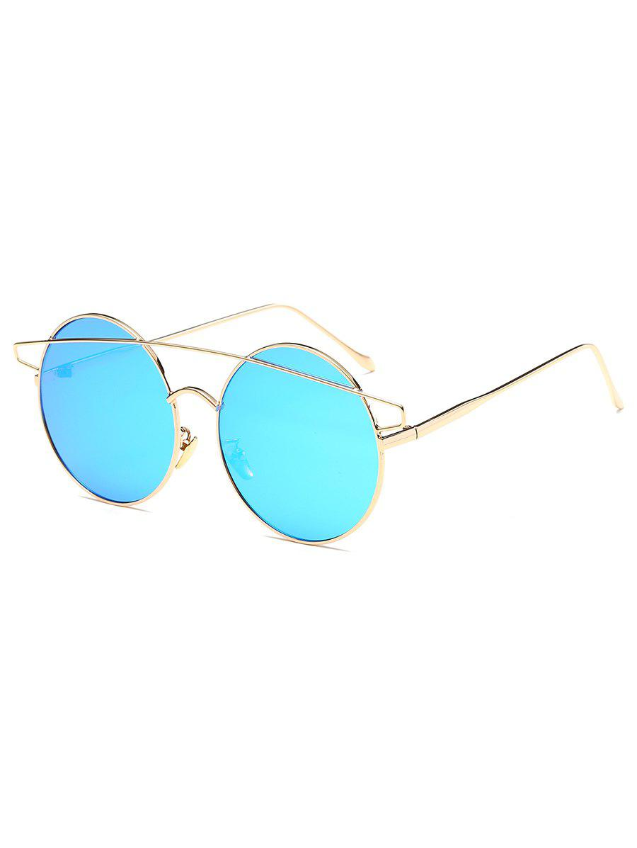 Outfit Metal Round Frame Stylish Sunglasses